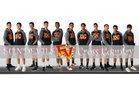 Espanola Valley Sundevils Boys Varsity Cross Country Fall 18-19 team photo.
