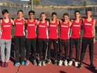 Albuquerque Academy Chargers Boys Varsity Cross Country Fall 18-19 team photo.