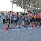 Aztec Tigers Boys Varsity Cross Country Fall 18-19 team photo.