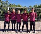 Gadsden Panthers Boys Varsity Cross Country Fall 18-19 team photo.