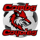 Combs Coyotes Girls Varsity Soccer Winter 16-17 team photo.