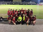 Cleveland Indians Girls Varsity Soccer Winter 16-17 team photo.