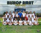 Bishop Amat Lancers Girls Varsity Soccer Winter 16-17 team photo.