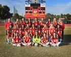 Seton Catholic Sentinels Girls Varsity Soccer Winter 16-17 team photo.