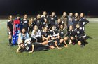 Coconino Panthers Girls Varsity Soccer Winter 16-17 team photo.