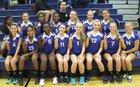 Battlefield Bobcats Girls Freshman Volleyball Fall 13-14 team photo.