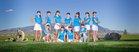 Cleveland Storm Girls Varsity Golf Spring 15-16 team photo.