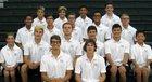 Pine Crest Panthers Boys Varsity Swimming Fall 17-18 team photo.
