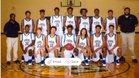 Washington-Wilkes Tigers Boys Varsity Basketball Winter 16-17 team photo.