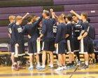 Maranatha Christian Eagles Boys Varsity Basketball Winter 16-17 team photo.