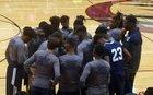 Georgetown Bulldogs Boys Varsity Basketball Winter 16-17 team photo.