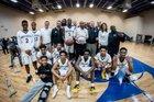 Gray Collegiate Academy War Eagles Boys Varsity Basketball Winter 16-17 team photo.