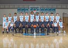 Cleveland Storm Boys Varsity Basketball Winter 16-17 team photo.