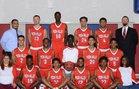 Moon Valley Rockets Boys Varsity Basketball Winter 16-17 team photo.