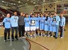 Rancho Mirage Rattlers Boys Varsity Basketball Winter 16-17 team photo.