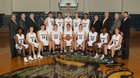 Hoggard Vikings Boys Varsity Basketball Winter 16-17 team photo.