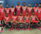 Jacksonville Titans Boys Varsity Basketball Winter 16-17 team photo.