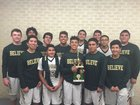 Lyford Bulldogs Boys Varsity Basketball Winter 16-17 team photo.