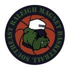 Southeast Raleigh Bulldogs Boys Varsity Basketball Winter 16-17 team photo.