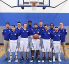 Allen Academy Rams Boys Varsity Basketball Winter 16-17 team photo.