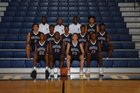 High Point Central Bison Boys Varsity Basketball Winter 16-17 team photo.