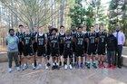 Research Triangle Raptors Boys Varsity Basketball Winter 16-17 team photo.