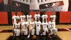 Monarch Knights Boys Varsity Basketball Winter 16-17 team photo.