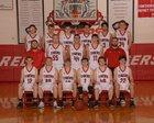 Green Forest Tigers Boys Varsity Basketball Winter 16-17 team photo.