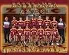 Esperanza Aztecs Boys Varsity Basketball Winter 16-17 team photo.