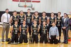 Doniphan Dons Boys Varsity Basketball Winter 16-17 team photo.