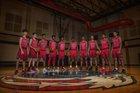 Dawson Eagles Boys Varsity Basketball Winter 16-17 team photo.
