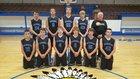 Western Grove Warriors Boys Varsity Basketball Winter 16-17 team photo.