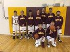 Vaughn Eagles Boys Varsity Basketball Winter 16-17 team photo.