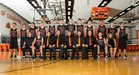 Artesia Bulldogs Boys Varsity Basketball Winter 16-17 team photo.