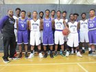 Bradley Tech Trojans Boys Varsity Basketball Winter 16-17 team photo.