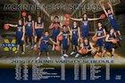 McKinney Lions Boys Varsity Basketball Winter 16-17 team photo.