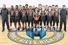 Pebble Hills Spartans Boys Varsity Basketball Winter 16-17 team photo.