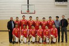 Rio Rico Hawks Boys Varsity Basketball Winter 16-17 team photo.
