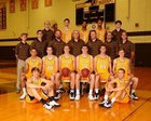 Kickapoo Chiefs Boys Varsity Basketball Winter 16-17 team photo.