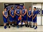 Kingman Bulldogs Boys Varsity Basketball Winter 16-17 team photo.
