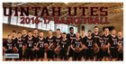 Uintah Utes Boys Varsity Basketball Winter 16-17 team photo.