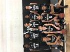 Smackover Buckaroos Boys Varsity Basketball Winter 16-17 team photo.