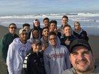 River Valley Falcons Boys Varsity Basketball Winter 16-17 team photo.