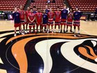 Beyer Patriots Boys Varsity Basketball Winter 16-17 team photo.
