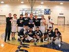 Bishop McLaughlin Catholic Hurricanes Boys Varsity Basketball Winter 16-17 team photo.
