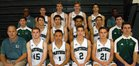 Pine Crest Panthers Boys Varsity Basketball Winter 16-17 team photo.