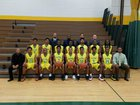 Indianapolis Crispus Attucks Tigers Boys Varsity Basketball Winter 16-17 team photo.