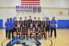 Community School of Davidson Spartans Boys Varsity Basketball Winter 16-17 team photo.