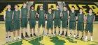 Los Alamos Hilltoppers Boys Varsity Basketball Winter 16-17 team photo.