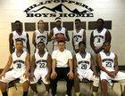 Boys' Home Hilltoppers Boys Varsity Basketball Winter 16-17 team photo.